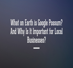 Google Possum, What is it?
