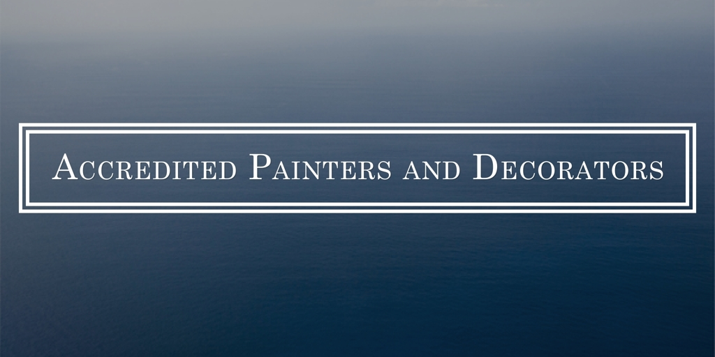 Accredited Painters and Decorators Ryde