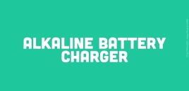 Alkaline Battery Charger Kanwal