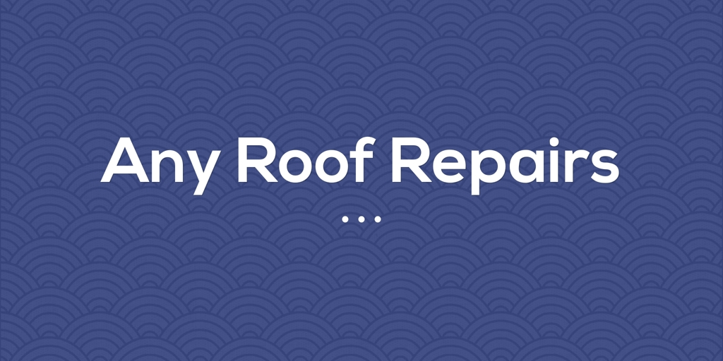 Any Roof Repairs Nemingha