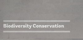 Biodiversity Conservation Ultimo