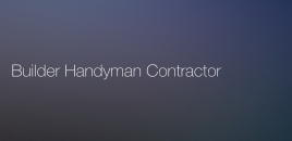 Builder Handyman Contractor Arncliffe Arncliffe