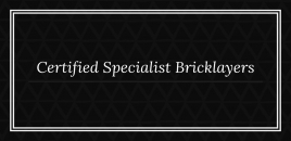 Certified Specialist Bricklayers Coogee