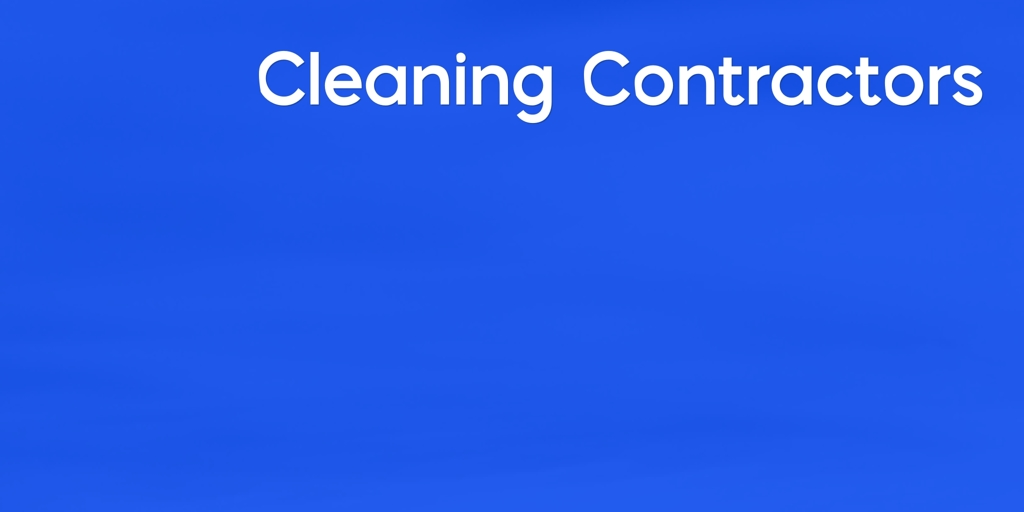 Cleaning Contractors Treeby