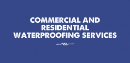 Commercial and Residential Waterproofing Services Wiley Park