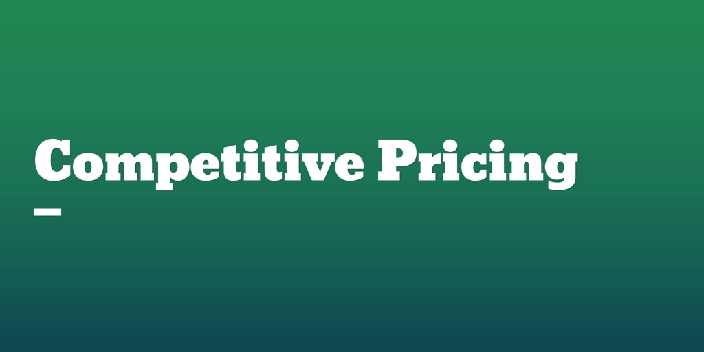 Competitive Pricing Highton