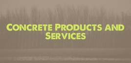 Concrete Products and Services in Harrisdale Harrisdale