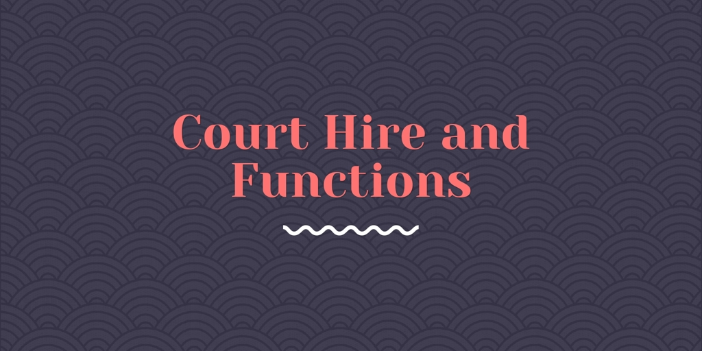 Court Hire and Functions Bathurst