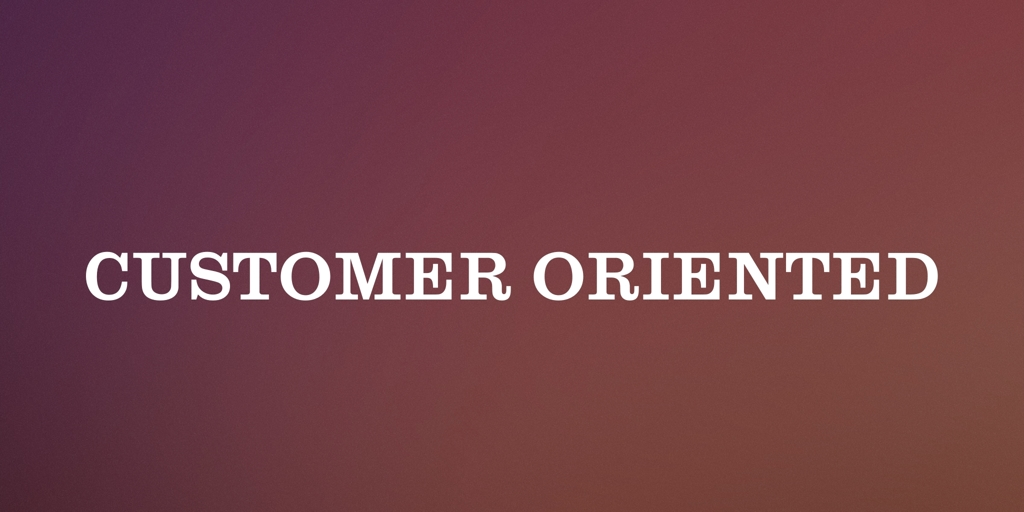 Customer Oriented Madeley