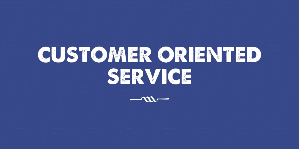 Customer Oriented Service Elizabeth Park
