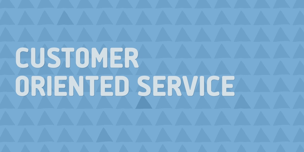 Customer Oriented Service Boreen Point