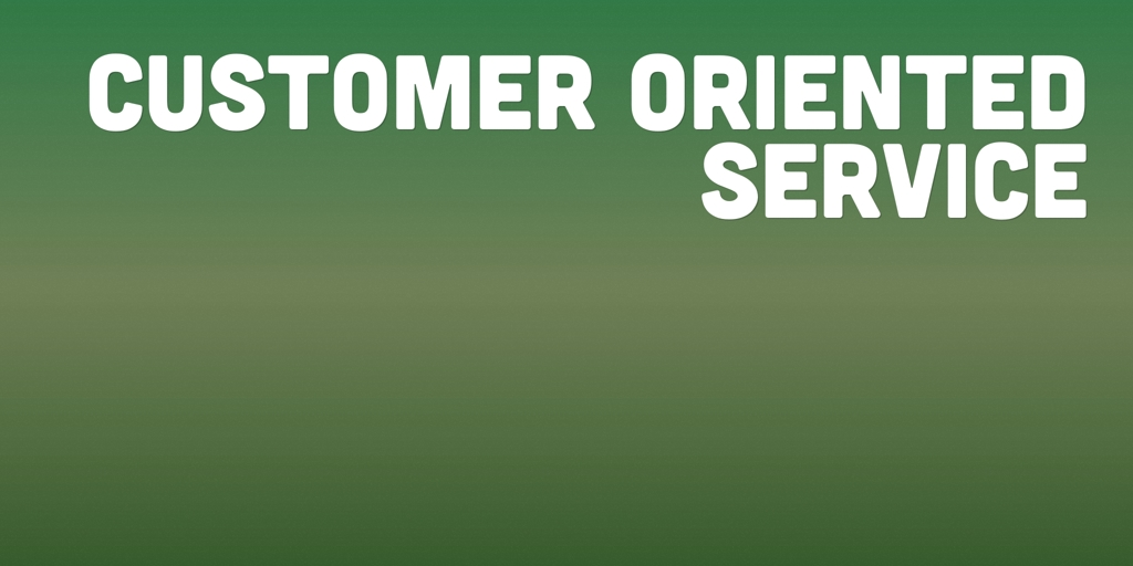 Customer Oriented Service binnum