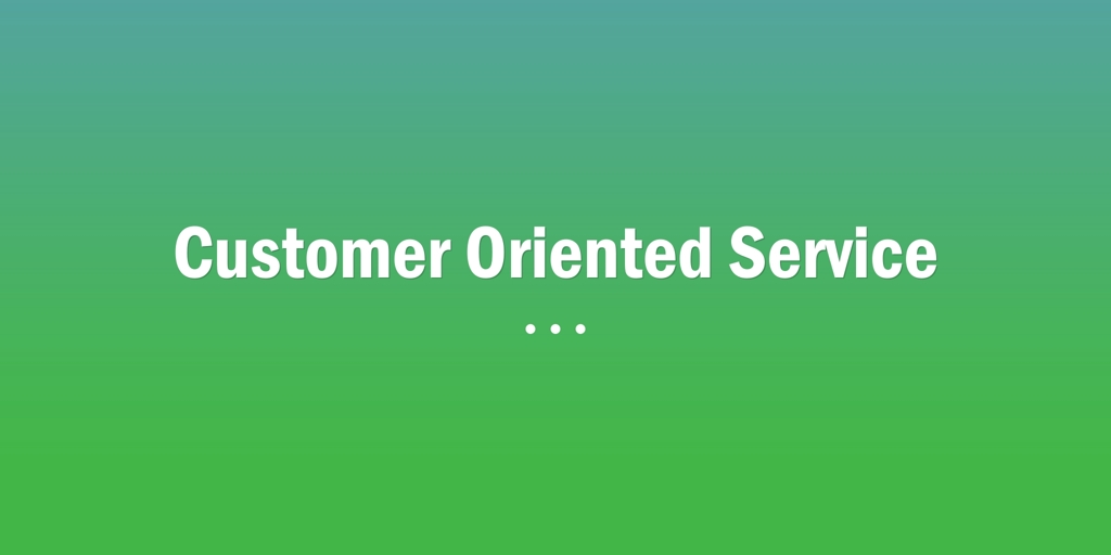 Customer Oriented Service Padbury