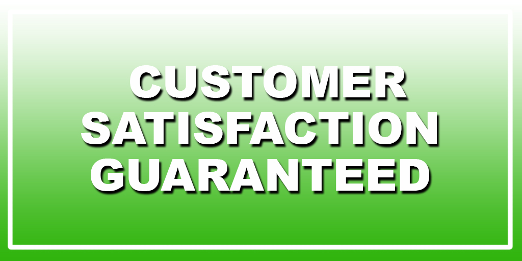 Customer Satisfaction Guaranteed Parap