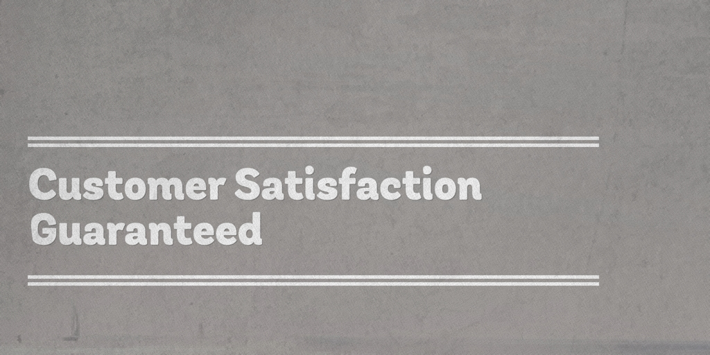 Customer Satisfaction Guaranteed north geelong