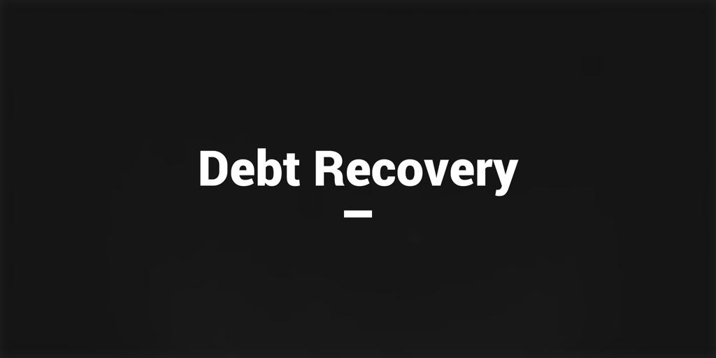 Debt Recovery black rock