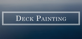 Deck Painting Miami