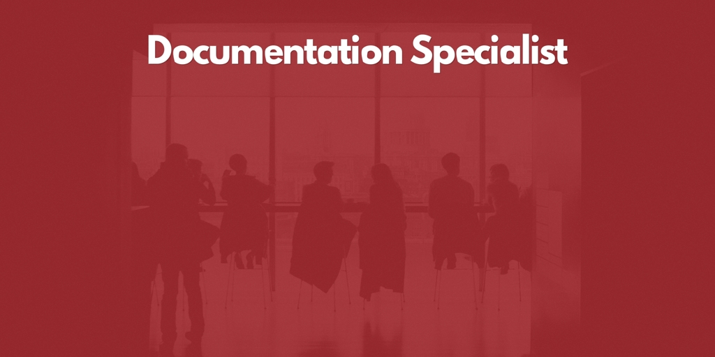 Documentation Specialist Manly Vale