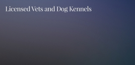 Dog Kennels and Licensed Veterinarians Currimundi