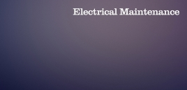 Electrical Maintenance Chifley