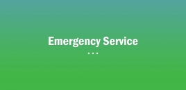 Emergency Service bonner