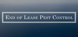 End of Lease Pest Control Woodrising