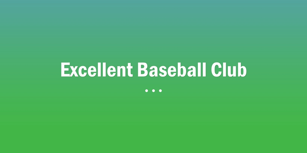 Excellent Baseball Club Findon Baseball Club Findon