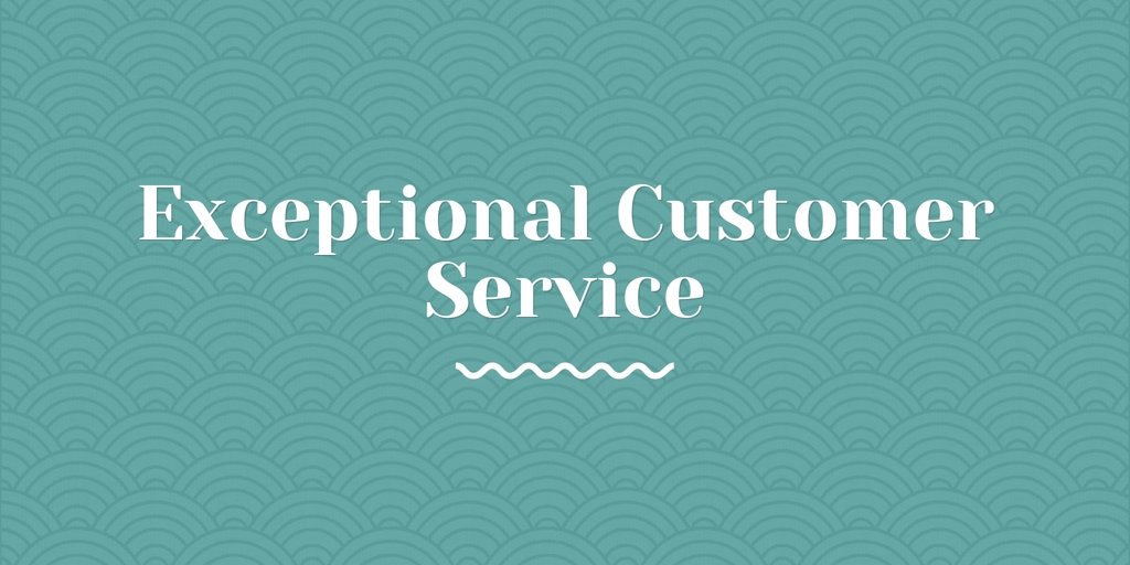 Exceptional Customer Service Woody Point
