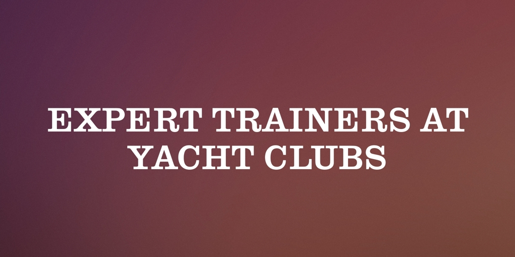Expert Trainer at Yatch Club Largs North