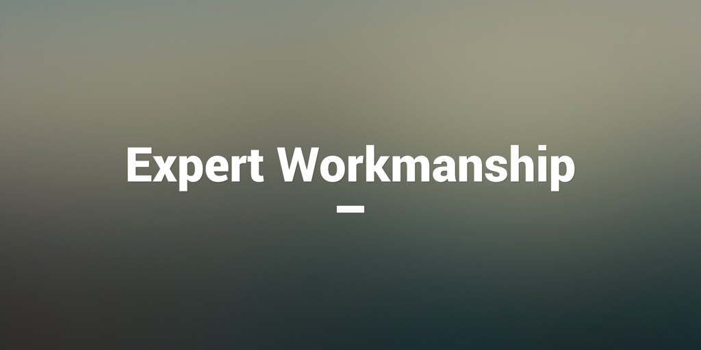 Expert Workmanship hackney