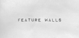 Feature Walls bellfield