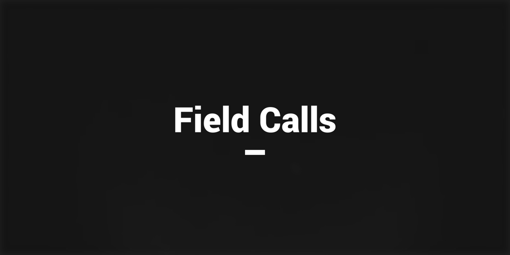 Field Calls black rock