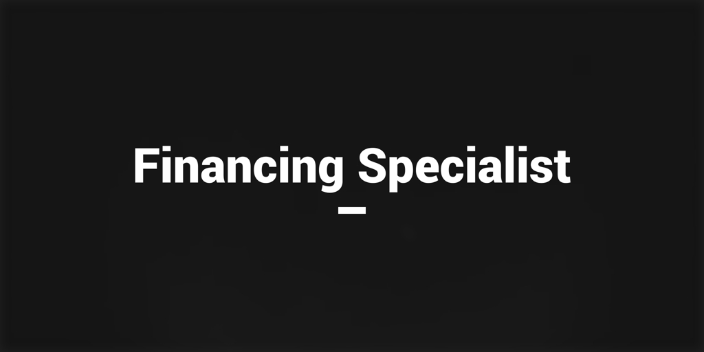 Financing Specialist  North Road Financiers north road