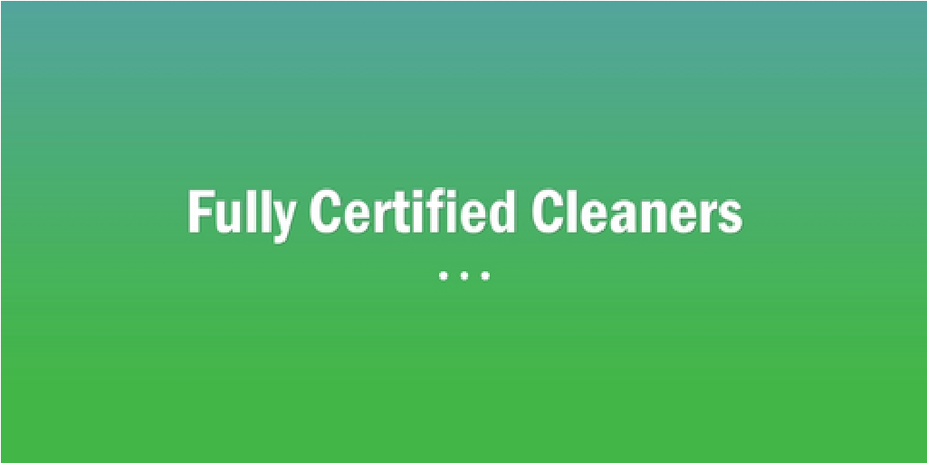 Fully Certifies Cleaners Wentworthville