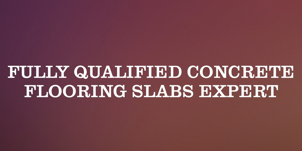 Fully Qualified Concrete Flooring Slabs Expert Springvale