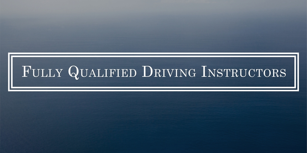 Fully Qualified Driving Instructors Newcastle