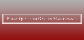 Fully Qualified Garden Maintenance Epping
