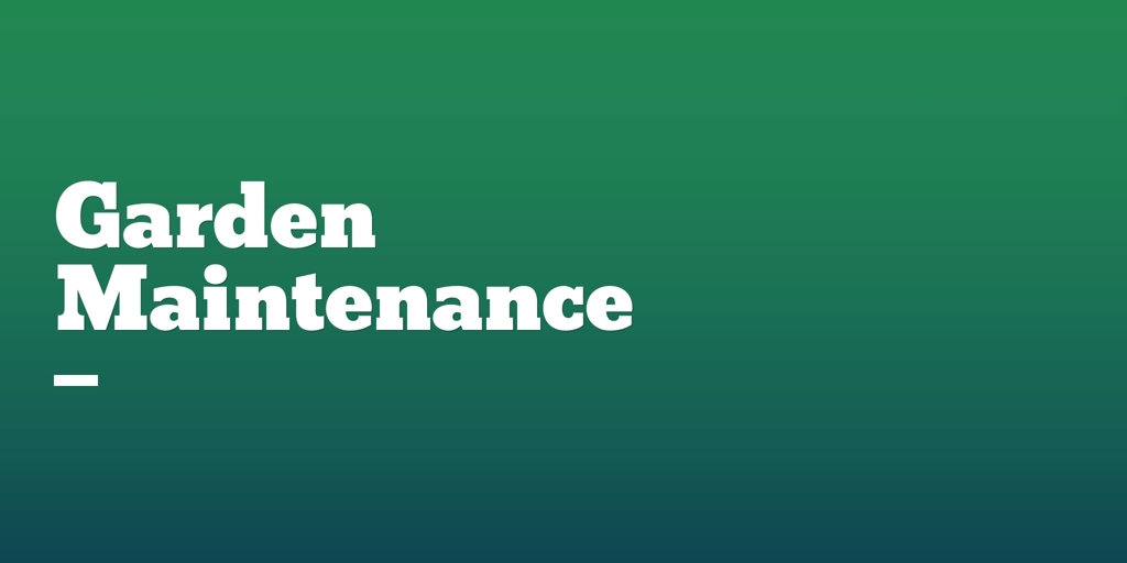Garden Maintenance Emu Plains