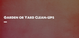 Garden or Yard Cleanup Services Burswood Burswood