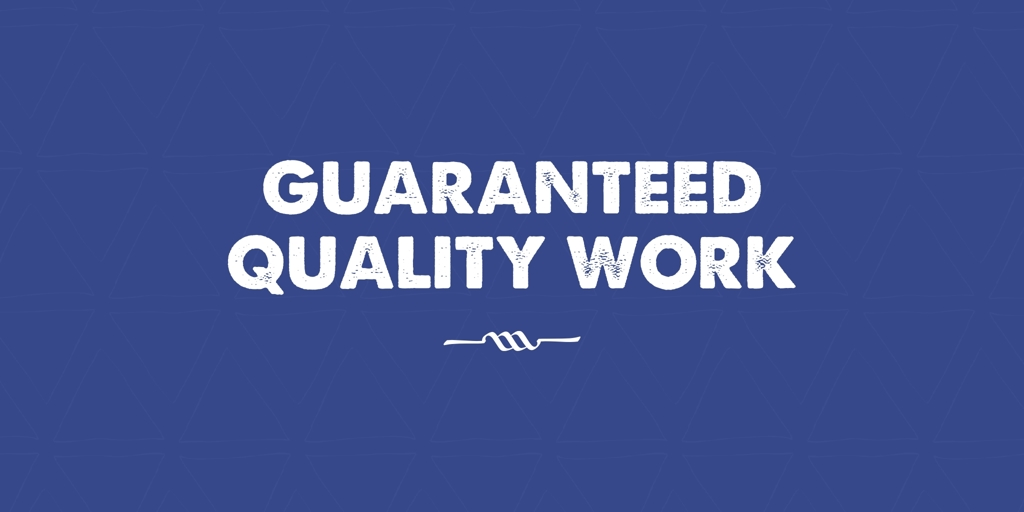 Guaranteed Quality Work Weston