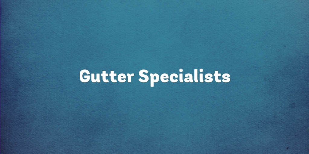 Gutter Specialists Wollongong