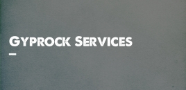 Gyprock Services Mount Rankin