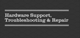 Hardware Support, Troubleshooting and Repair Balmain