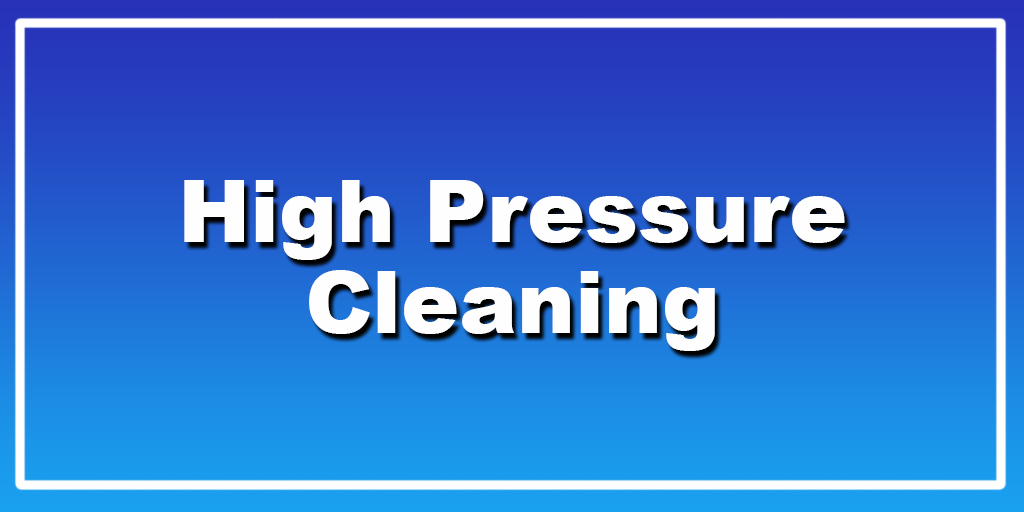 High Pressure Cleaning Adelaide