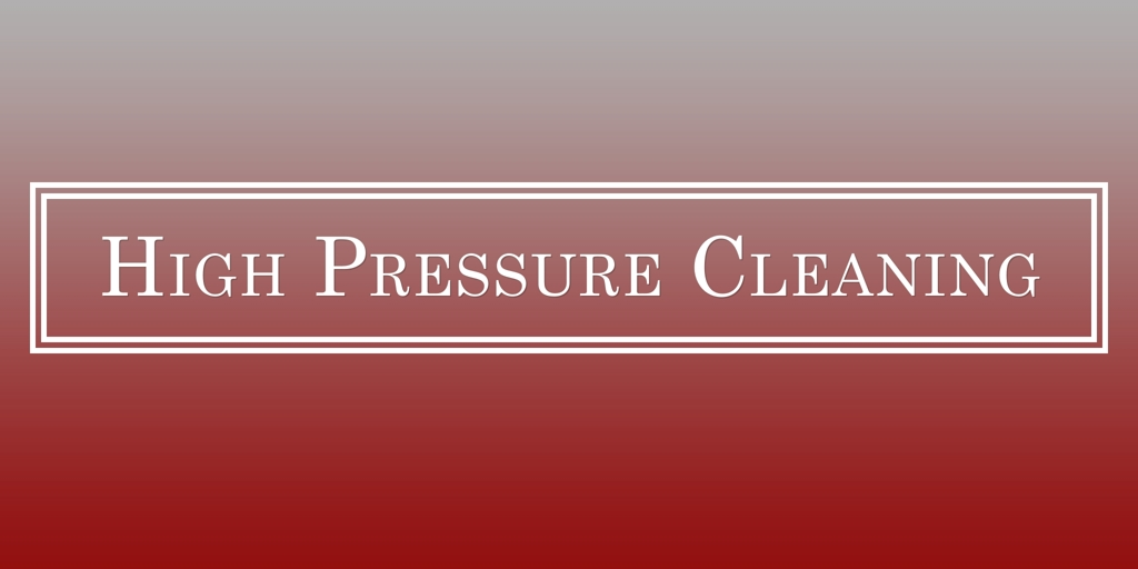 High Pressure Cleaning Canning Vale