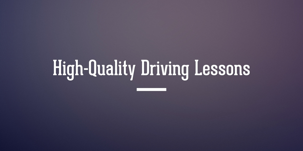 High Quality Driving Lessons Adelaide