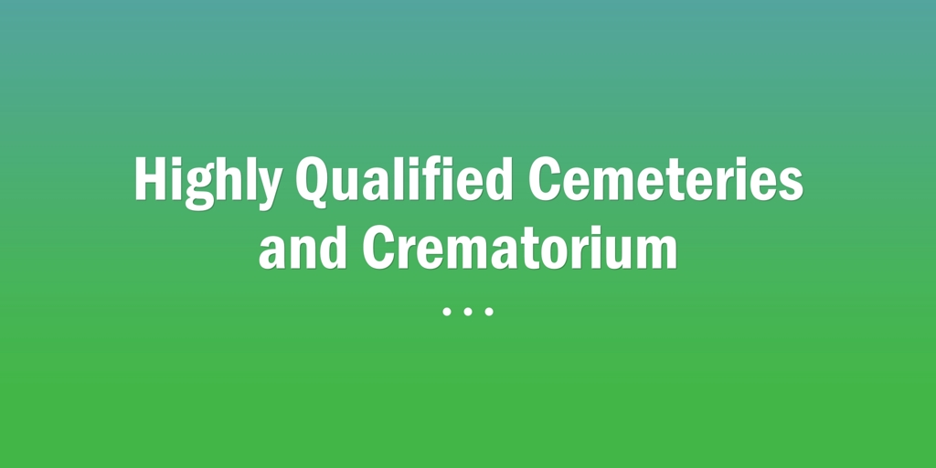 Highly Qualified Cemeteries and Crematoriums Laidley