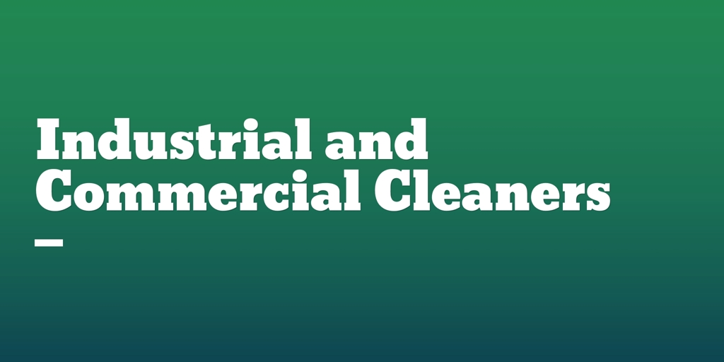 Industrial and Commercial Cleaners Spearwood