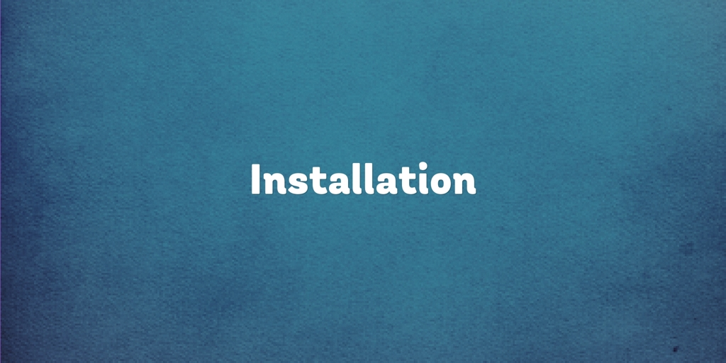 Installation Sunshine