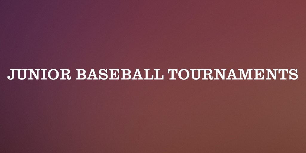 Junior Baseball Tournaments Casuarina